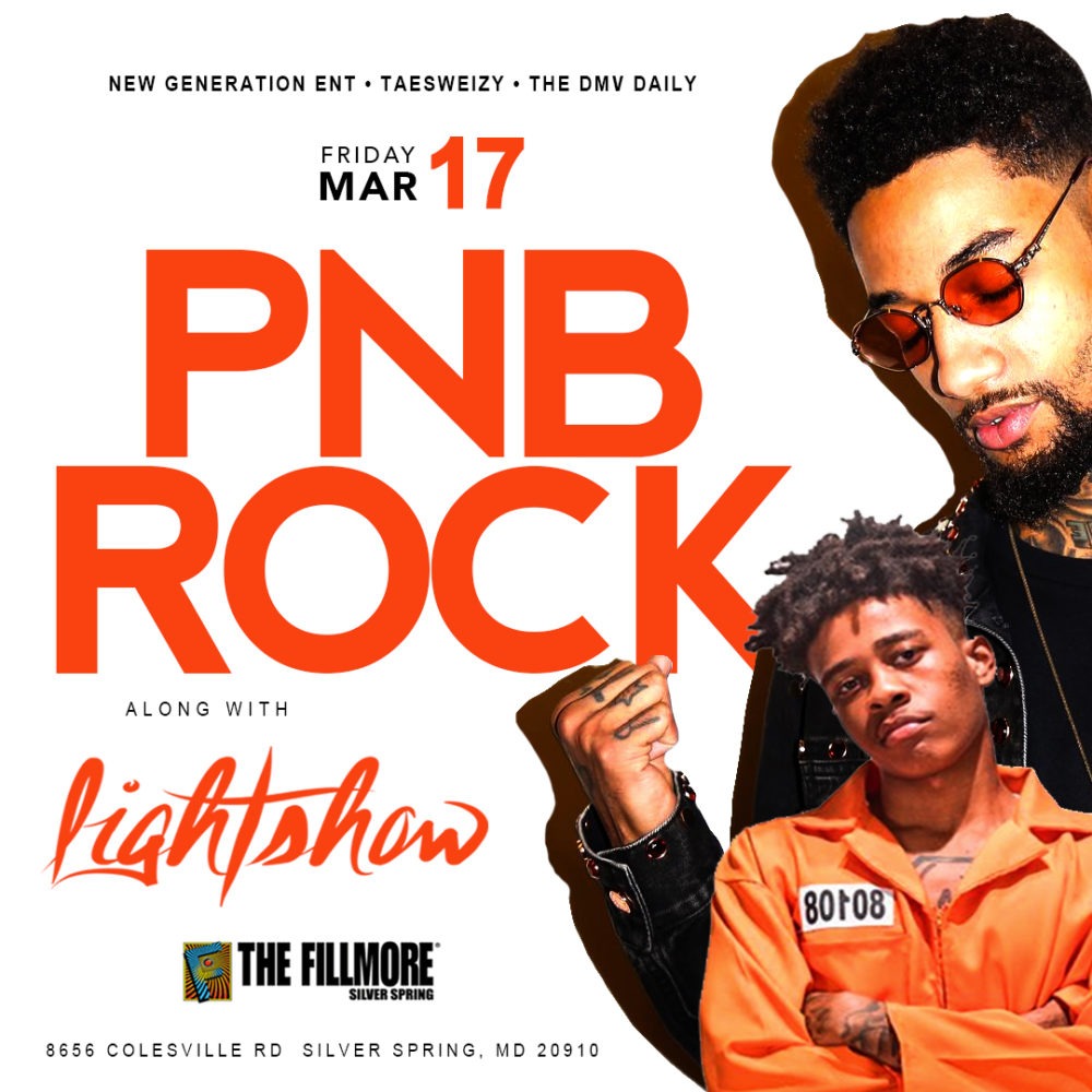 PNB Rock at The Fillmore Mar.17th – Tickets Available Here