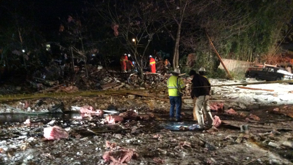 A Body Was Found In Home After Explosion In Rockville