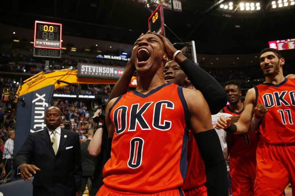 Russell Westbrook records NBA record 42nd triple double