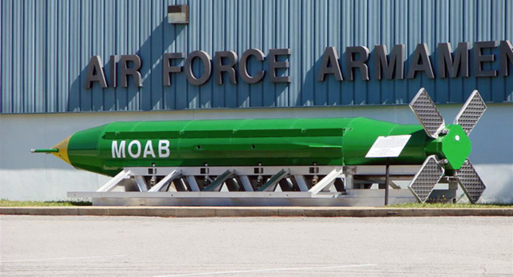 US drops largest non-nuclear bomb in Afghanistan after Green Beret killed