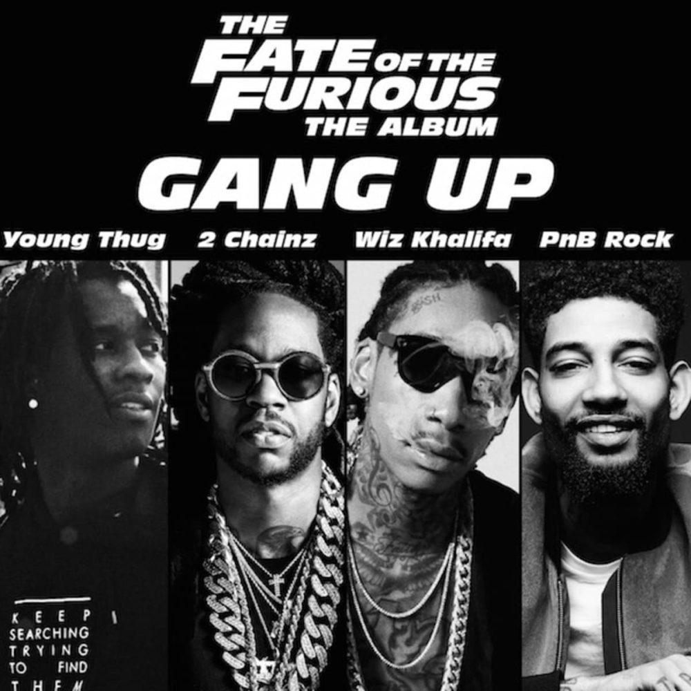 Young Thug, 2 Chainz, Wiz Khalifa & PNB Rock – Gang Up