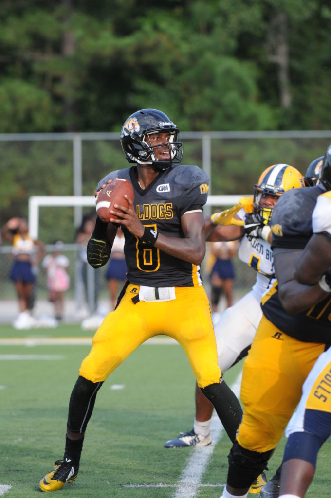 Bowie State football blows out Saint Augustine 66-20