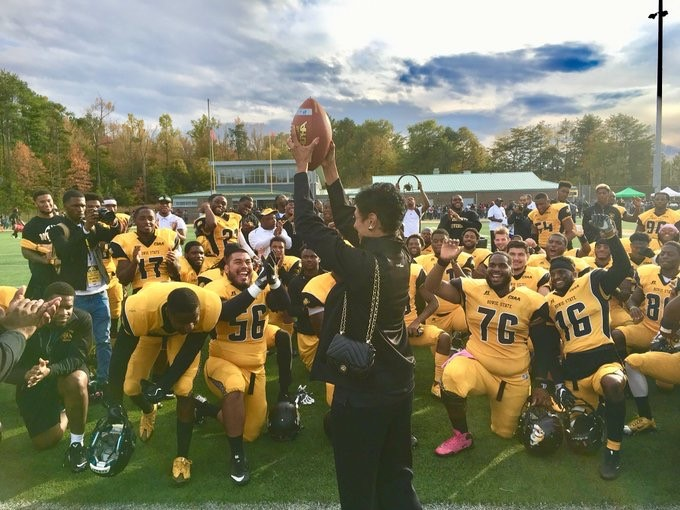 On Homecoming, Bowie State obliterates Lincoln 86-14