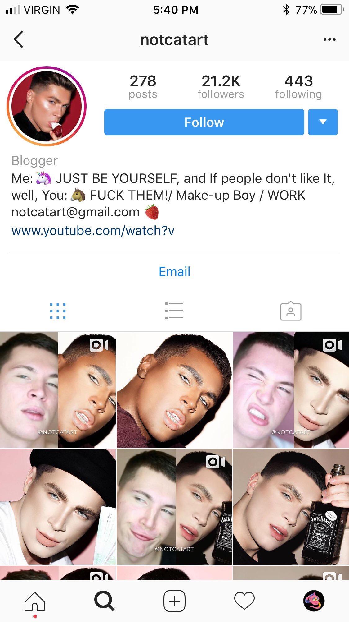 Makeup Artist dragged for blackface Instagram Tutorial